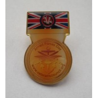 LIMITED EDITION - Veterans Council Armed Forces Day Emblem Badge