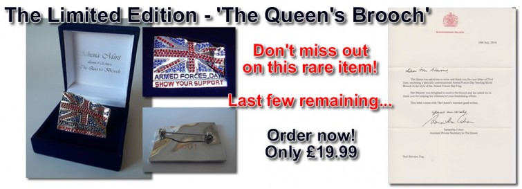Queens Brooch