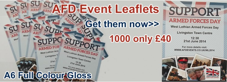 Event Leaflets only £40