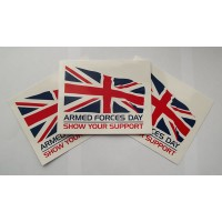 Armed Forces Day Bumper Sticker